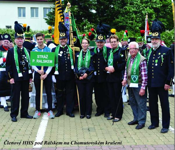 Členové HHS pod Ralskem na Chomutovském krušení.