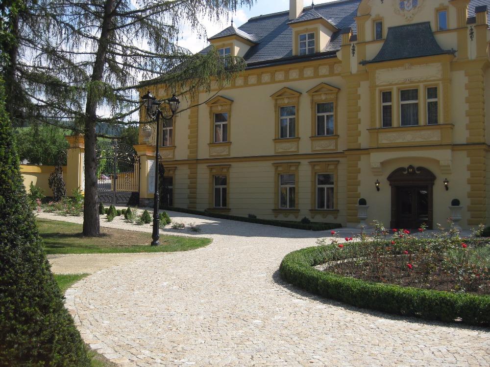 Historický pohled na sobotínský zámek