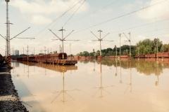 Ostrava Pravé přednádraží 10.7.1997 - foto Mojmír Leštinský
