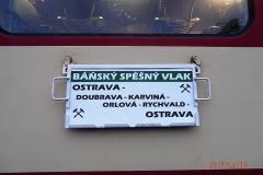 Vlak po Báňské dráze