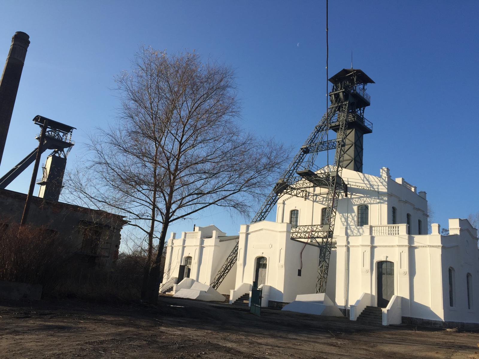 Opravy areálu Dolu Alexander dokončeny