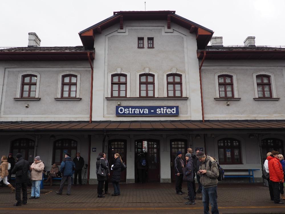 Mimořádný vlak po vlečkách OKD