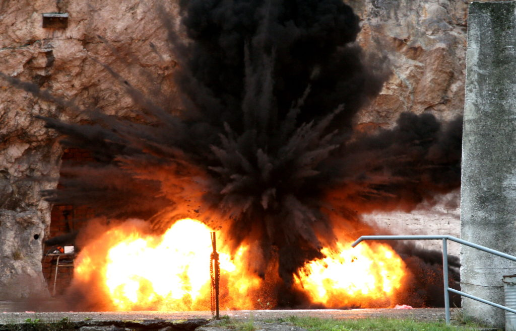 Lidské chyby dokáže metan krutě ztrestat
