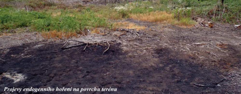 Termicky aktivní odval Hedvika – letní sucha opět zvyšují riziko požáru