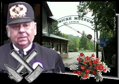 Poslední rozloučení s panem Karlem Budinem, jednatelem a hospodářem Klubu přátel hornického muzea Ostrava